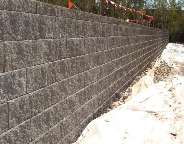 Australian Retaining Walls Vertica Retaining Wall
