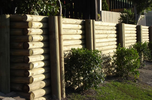 Timber Retaining Walls