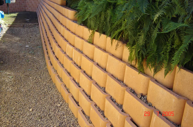 Terrace Block Retaining Walls
