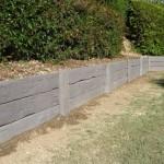 Australian Retaining Walls Concrete Sleeper Retaining