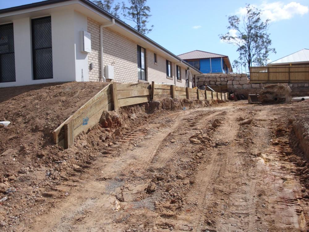 Australian Retaining Walls Concrete Sleepers Retaining
