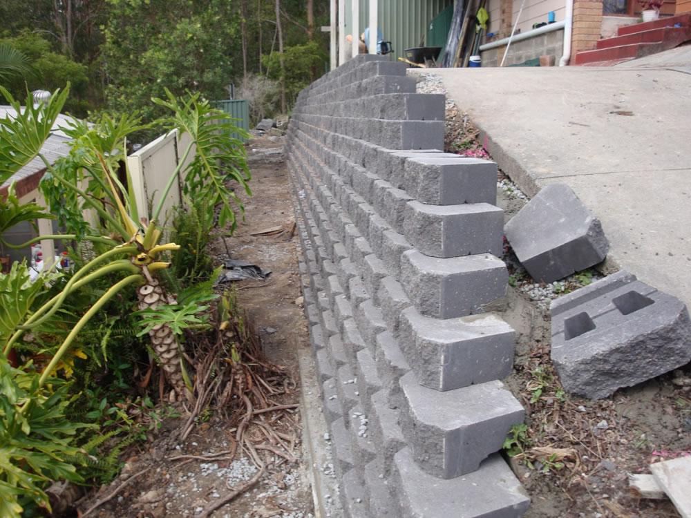 Australian Retaining Walls Diamond Concrete Block Retaining Walls