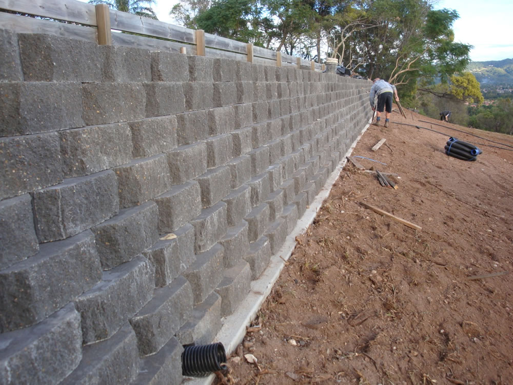 Australian Retaining Walls Diamond Concrete Link Block