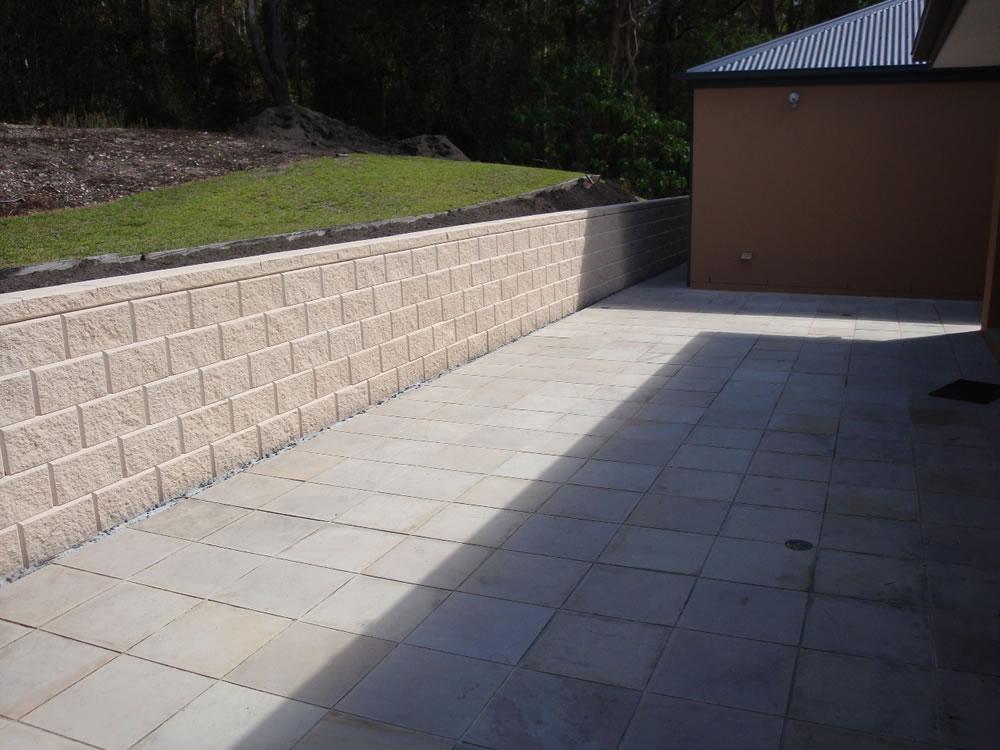 Pics Photos Cement Retaining Walls