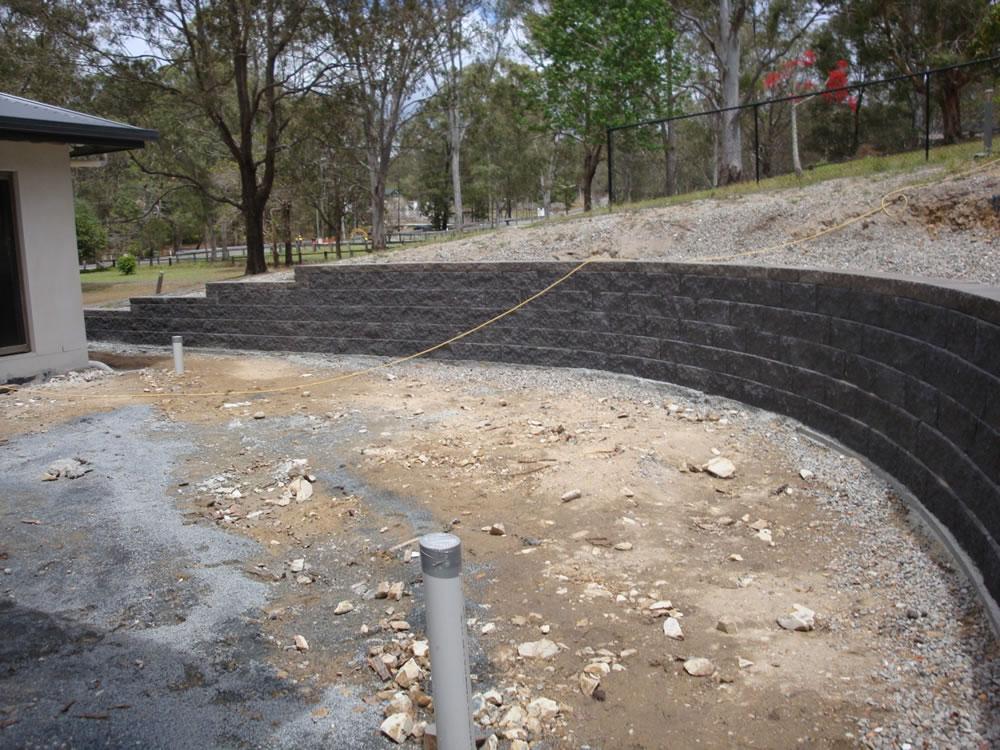 Australian Retaining Walls Keystone Concrete Blocks