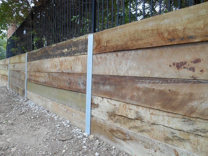 Australian Retaining Walls Timber Retaining Walls Australian