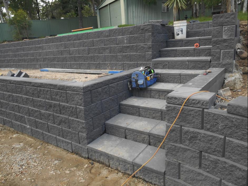 Australian Retaining Walls Heron Concrete Blocks Ormeau Australian Retaining Walls